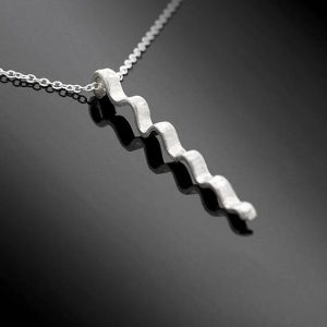 silver pendant made by iana jewellery
