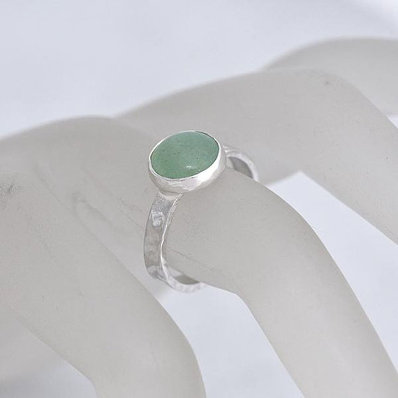 Etsy Green Ring size P