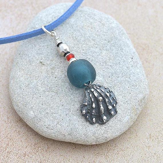 Shell Pendant iana jewellery maker Canterbury Kent handmade Etsy jewelry