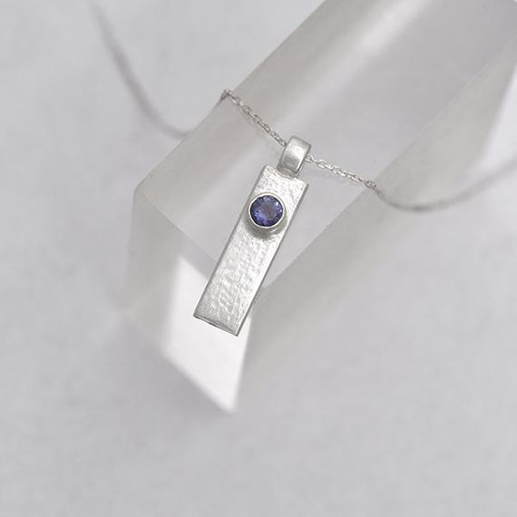 Iolite pendant iana jewellery maker Canterbury Kent